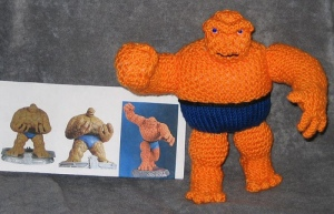 The Thing & reference photos